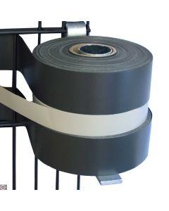 Abroller / Abwickelhilfe für Kunststoffstreifen rostfrei
