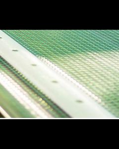 Gitterfolie grün-transparent