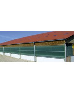 Windschutzgewebe fein / grob
